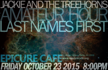 Epicure Cafe – October 23, 2015
