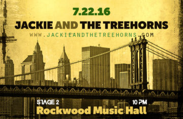 Rockwood Music Hall – July 22, 2016 (NYC)