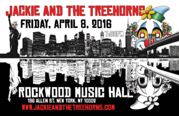 Jackie and The Treehorns @ Rockwood Music Hall