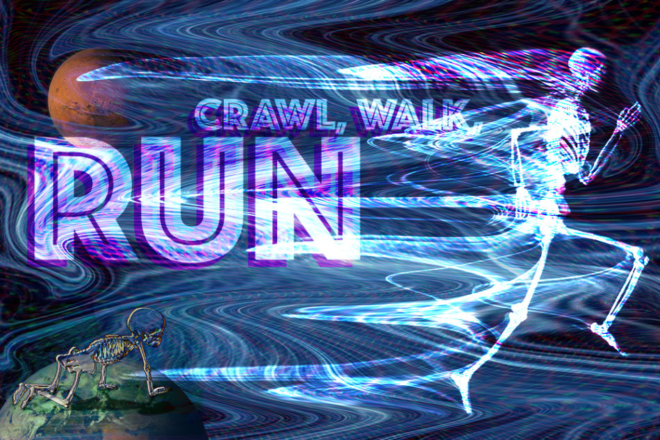 Crawl, Walk, Run (Bruce Scallon)