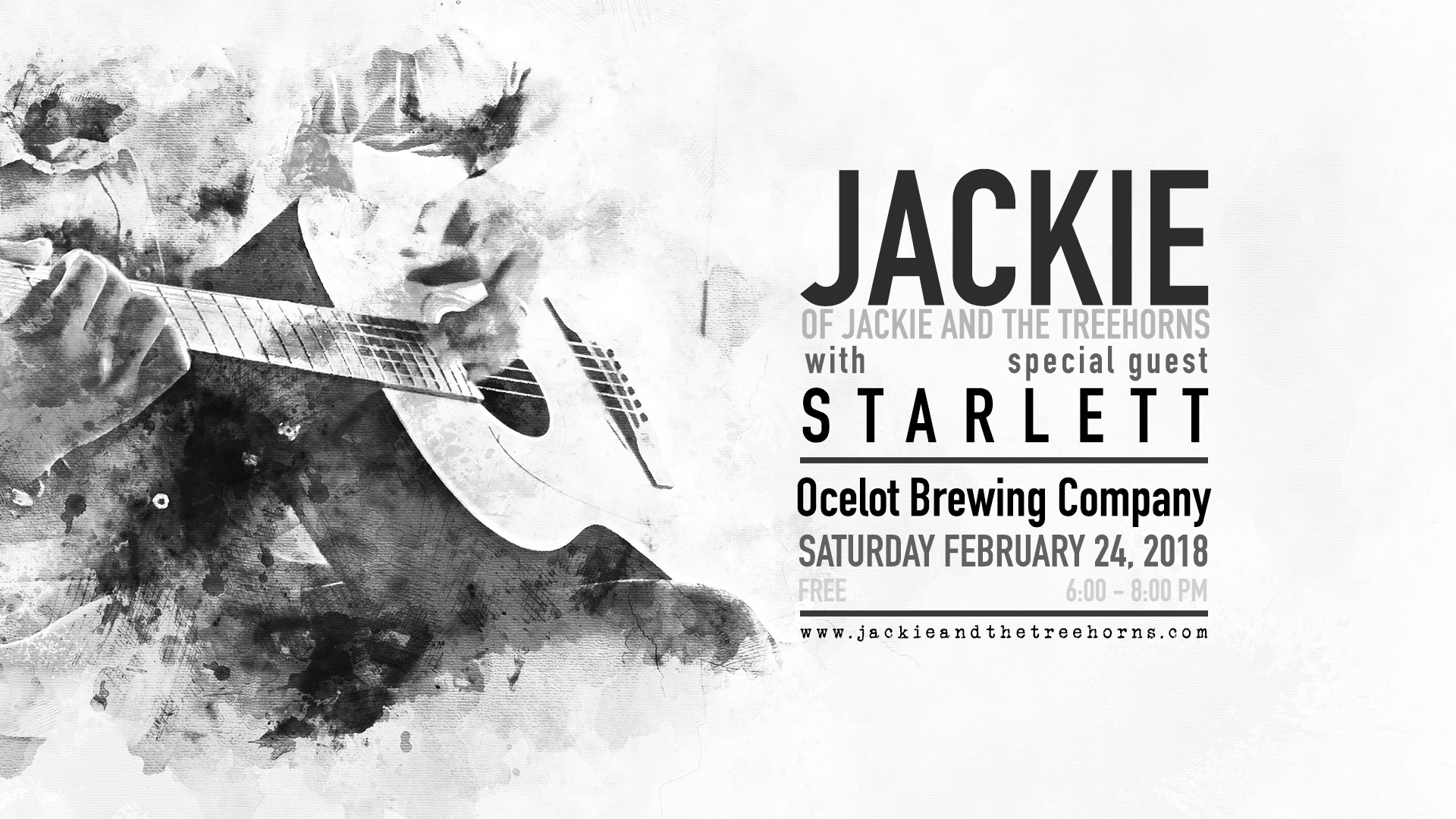 Jackie Acoustic @ Ocelot Brewing Company