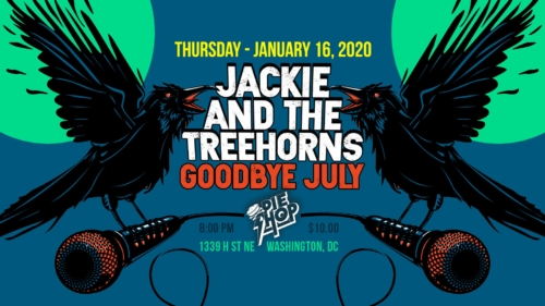 Jackie and The Treehorns @ The Pie Shop DC