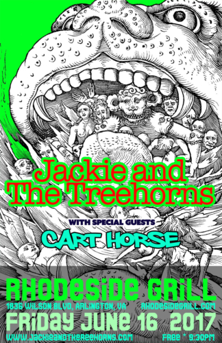 Jackie and The Treehorns @ Rhodeside Grill