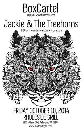 Jackie and The Treehorns @ Rhodeside Grille