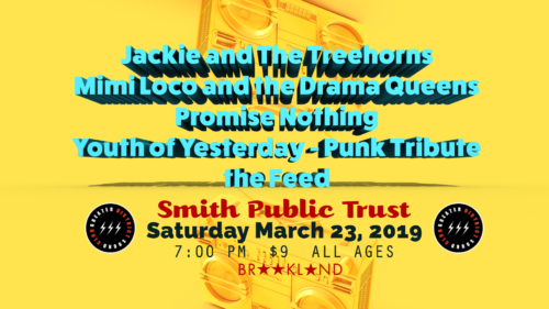 Jackie and The Treehorns @ Smith Public Trust