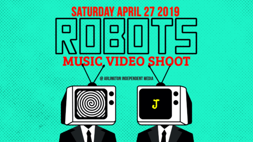 Robots Video Shoot